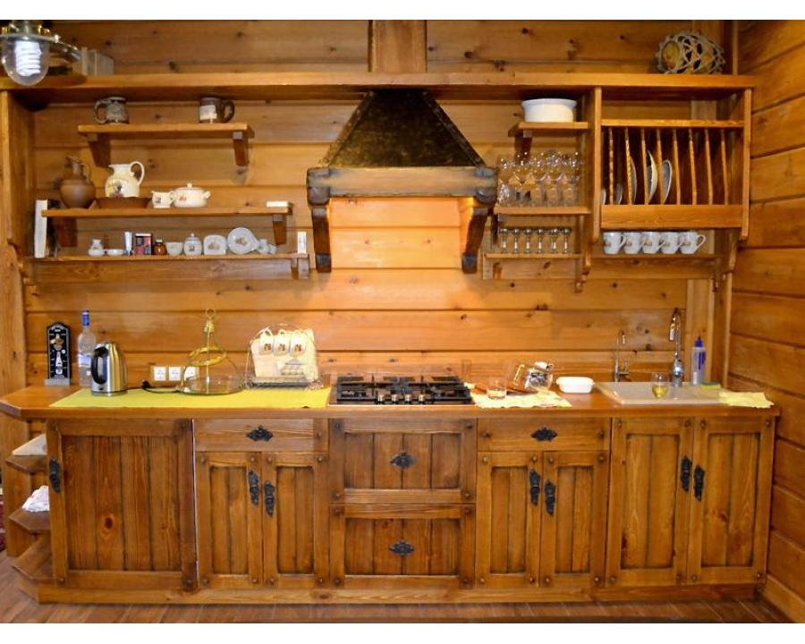 Как сделать кухни под старину